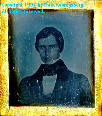 Ninth-plate daguerreotype of Young Man