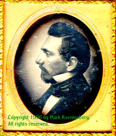 Sixth-plate daguerreotype of Distinguished Man