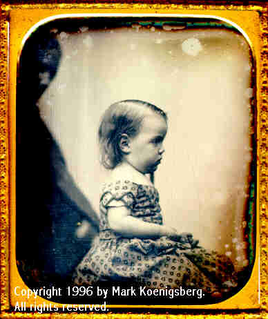 Sixth-plate daguerreotype of Child by Southworth and Hawes